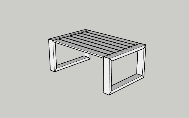 Outdoor Coffee Table – The Plan