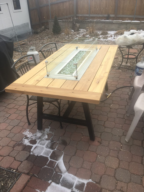 Outdoor Fire Table – Final Costs