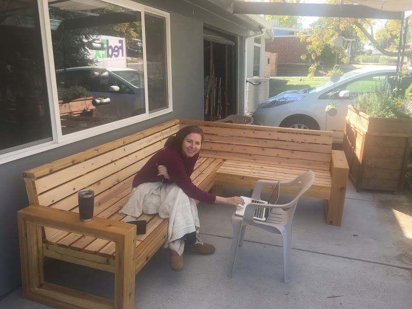 Outdoor Sectional – Part IV – Backrest and Seat Slats