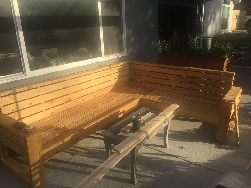 Outdoor Sectional – Part V – Stain